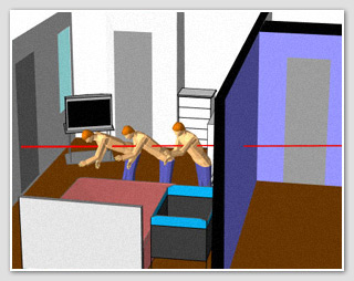 The Perfect Tool for Drawing 3D Indoor Shooting Scenes